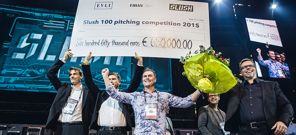 Slush-100 voittaja