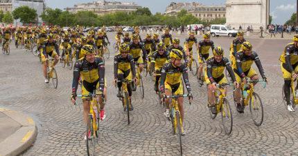 Team Rynkeby Pariisissa 2014