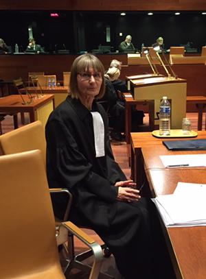 Ritva Nyrhinen asiamiehenä EU-tuomioistuimessa