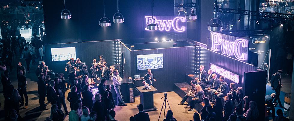 PwC Slushissa vuonna 2016