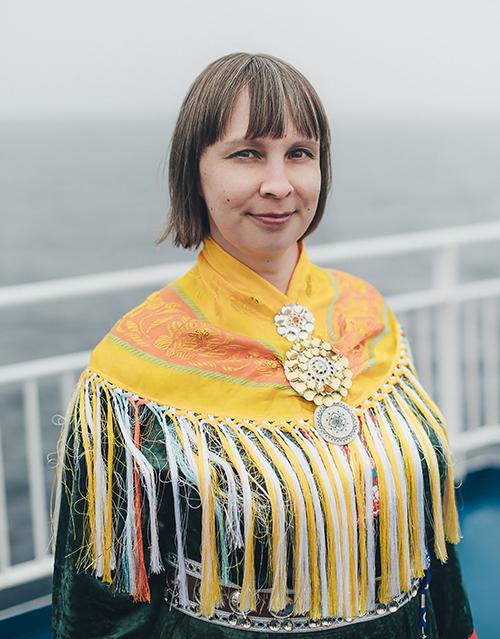 Pirita Näkkäläjärvi. Kuva: Natta Summerky/SOI Foundation