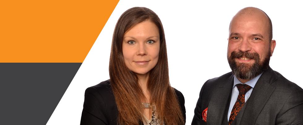 Anne Hirsiniemi ja Andrei Donoghue